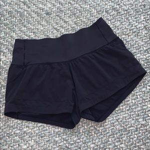 "Lululemon high rise mesh shorts 2.5"""